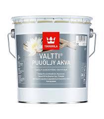<b>Масло</b> Tikkurila Valtti Puuoljy Akva для наружных <b>деревянных</b> ...