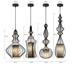 contact us cage pendant lighting