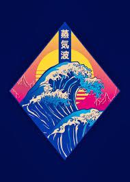 '<b>Vaporwave Japan Wave</b> Art' Poster Print by Reinhard Reschner ...