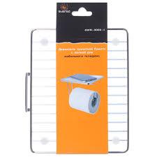 <b>Держатель</b> для <b>туалетной бумаги</b> с полкой для мобильного ...