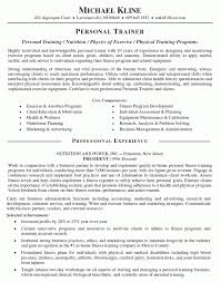 how to become a personal trainer in the us professional personal trainer resume