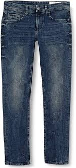 Tom Tailor Denim Men's Super <b>Slim Piers Blue</b> Denim Skinny Jeans ...