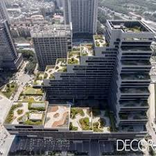 empreendimento comercial shenzhen terra office building localizado na china rene terraos privativos com jardins amazing build office