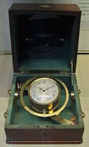 Ship's chronometer from HMS Beagle
