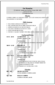 samples of a well written resume in sydney australia low cost fast example of a well written resume