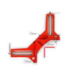 1 PC <b>90 Degree Right</b> Angle Picture Frame Corner Clamp Holder ...