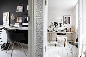 home inspiration beautiful office space minimalist workspace black black white home office inspiration