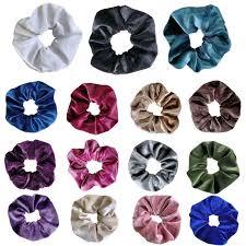 Women <b>Wide Ruched</b> Stretch Weave <b>Large</b> Circle Hair Rope Glitter ...
