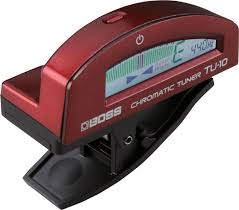 <b>Boss TU</b>-<b>10</b>-<b>RD</b> Clip-On Chromatic Tuner Red <b>гитарный тюнер</b> ...
