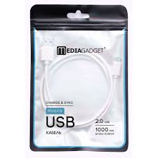 <b>USB</b> - кабель MEDIAGADGET U-MCU12P 2.0 <b>USB</b> - microUSB
