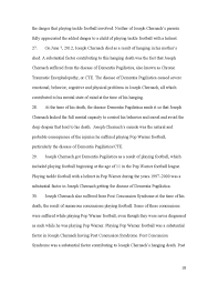 here is the first lawsuit over concussions in pop warner football  selected portion of a source document hosted by documentcloud