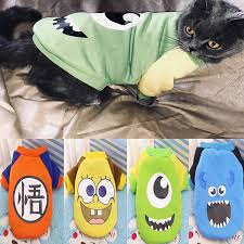 <b>Winter Warm</b> Cat Clothes for Cats Funny Pet Costume <b>Cute</b> Animal ...