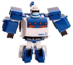 Трансформер <b>YOUNG TOYS Tobot</b> Mini Zero 301029 — купить по ...