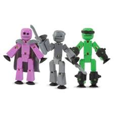 <b>Игровой набор</b> Zing <b>Stikbot Off</b> the Grid (Raptus, Shift and Regalius ...