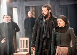 the crucible old vic review thoughts petrified forest 04311 the old vic the crucible richard armitage john proctor and natalie gavin mary warren