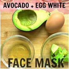 Image result for avocado face mask with egg yolk