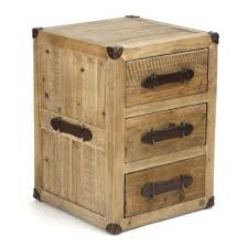 Zentique Abott 3 <b>Drawer Nightstand</b> | Wood trunk, <b>Reclaimed</b> wood ...