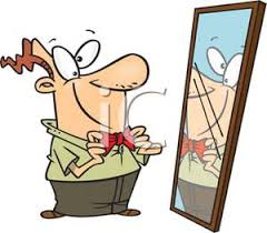 Image result for image of mirror in cartoon