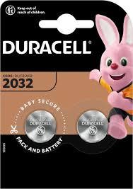 <b>CR2032</b> Батарейка <b>DURACELL DL</b>/<b>CR2032</b>, <b>2 шт</b>.