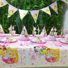 <b>78pcs</b>/<b>set Princess Ariel</b> Snow Queen Cartoon Baby Birthday Party ...