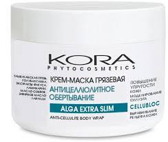 KORA Крем-маска грязевая <b>антицеллюлитное обертывание</b>, 300 ...