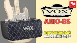 <b>VOX ADIO</b>-<b>BS</b> Моделирующий <b>бас</b>-гитарный усилитель с USB ...