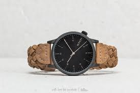 <b>Часы Komono Winston Woven</b> Cobblestone | Footshop