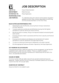 resume  example of resume with job description  chaoszcna job description