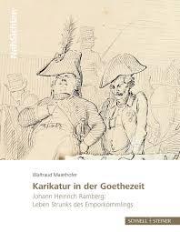 New Book | Karikatur in der Goethezeit | Enfilade