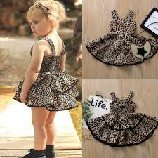 Special Price For <b>girl summer</b> leopard dress list and get free ...