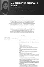 hr assistant resume samples   visualcv resume samples databasehr assistant resume samples