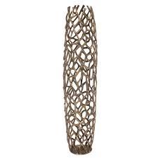 Beaufort Aluminum Branch <b>Floor Vase</b> Greyleigh Size 41 H x 9 W x ...
