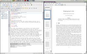 for students the kile editor and the kpdf viewer