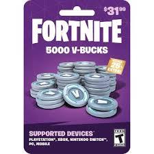 Fortnite V-bucks Gift Card : Target