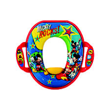 <b>Disney Baby Mickey Mouse</b> Soft Potty Seat | TOMY