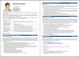 does your software developer s cv look professional andriy buday andriy buday s cv screenshot