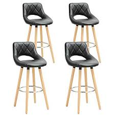Home Bar Furniture WOLTU Breakfast Kitchen Counter <b>Bar Stools</b> ...