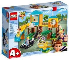 <b>Конструктор LEGO Toy</b> Story 10768 Приключения Базза и Бо Пип ...