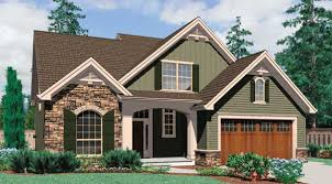 Three Popular Cottage House Plans   The House DesignersThe Landon house plan is a two story French Country style cottage   brick accent  Inside the house there are three bedrooms  a dining room