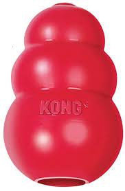 """<b>KONG Classic игрушка</b> для собак """"КОНГ"""" M средняя 8х6 см"""