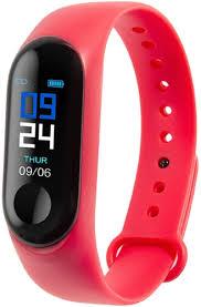 Фитнес-<b>браслет Digma Force</b> B1a Red - купить фитнес-браслет ...