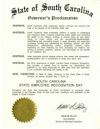 state employee recognition live healthy s c today governor nikki haley is celebrating state workers and the important work we do to make a difference in south carolina our daily work doesn t receive