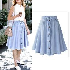 <b>2019</b> Summer <b>New Fashion Women Clothing</b> High Waist Pleated A ...