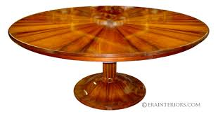 mahogany round dining table art deco dining table 8
