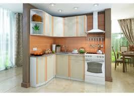 Угловой <b>кухонный гарнитур бланка</b> (<b>Левый</b>, дуб кремона)