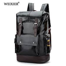 <b>WEIXIER 2019 New</b> Preppy Style Men Backpack High capacity Bac...