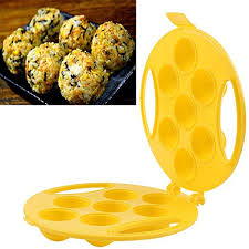 Yeefant <b>1Pc</b> Yellow Ball <b>Mold</b> Sushi Rice Ball <b>Meatball</b> Maker ...
