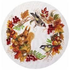 «<b>Набор для вышивания Panna</b> Осенний венок» — Результаты ...