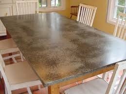 images zinc table top: tell marcus about zinc seen here on this table top for countertops instead of