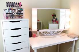 inspiring home furniture of ikea oval mirror inspiring home furniture design of makeup table with charming makeup table mirror lights